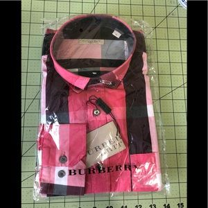 Burberry Brit new designer checkered shirt M